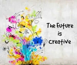 The future is creative